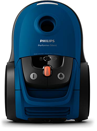 Philips FC8779/09 - Aspiradora (650 W, Aspiradora cilíndrica, Secar, Bolsa para el polvo, 4 L, Filtro EPA)