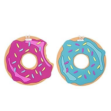 Travelon Luggage Tags Oversized Set of 2, Donut
