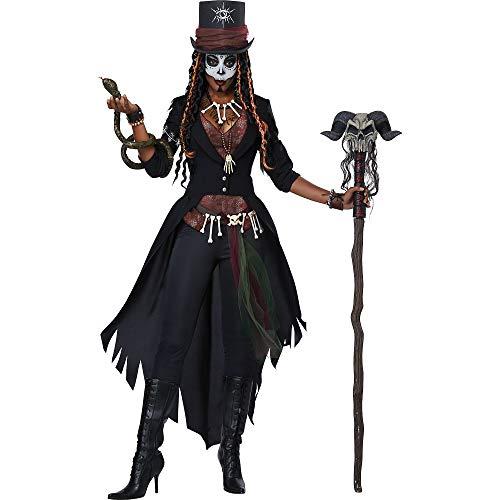 California Costumes Women's Voodoo Magic Costume, multi, Extra Large
