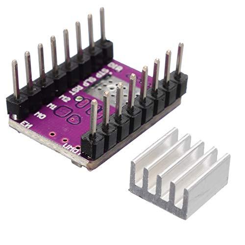 LF_FFa 5 Sets DRV8825 Schrittmotortreiber-Modul Stepstick Schrittmotor-Treiber for 3D-Drucker Teil (Farbe : As Show)