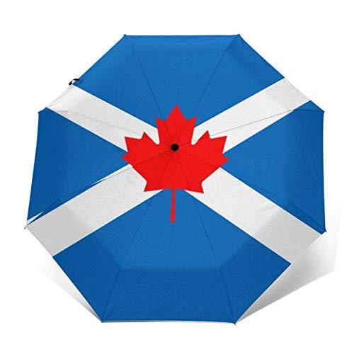 Bandera de canadienses Escoceses Protección UV Paraguas