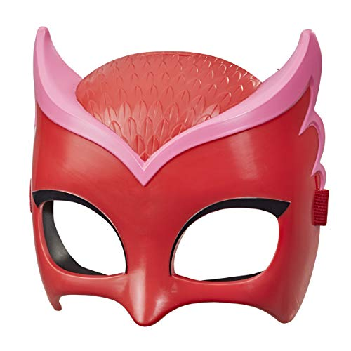 PJ Masks Hero Mask (Owlette) Preschool Toy, Dress-Up Costume Mask for Kids Ages 3 and Up