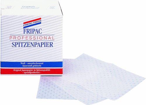Fripac-Medis Professional Spitzenpapier Blattgröße 90 x 65 mm, 500 Blatt, weiß
