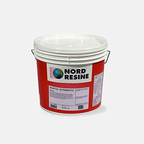 Guaina liquid impermeabilizzante Nortig 15 Fibrato Nord Resine, col. grigio, kg. 20