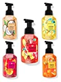 Bath and Body Works Gentle Foaming Hand Soap Set- Watermelon Lemonade, Raspberry Tangerine, Orange Sunrise, Vanilla Coconut & Sunshine & Lemons(Set of 5), 8.75 fl oz /259 mL Each