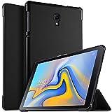 ELTD Coque Housse Étui pour Samsung Galaxy Tab A 10.5 SM-T590/T595, Support Auto Réveil/Sommeil pour Samsung Galaxy Tab A SM-T590/SM-T595 10.5 2018, Noir