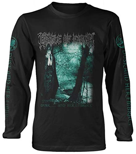 Cradle of Filth 'Dusk and Her Embrace' Long Sleeve Shirt (2 Extra Large)