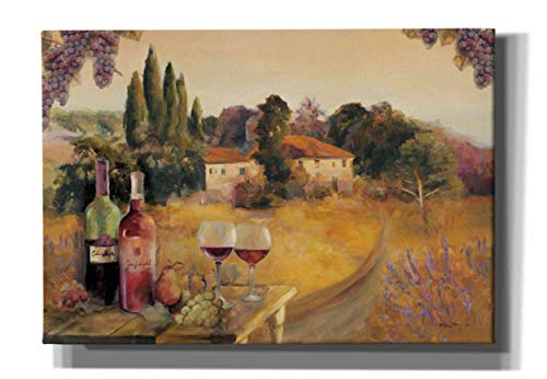 """Epic Graffiti Spoleta Afternoon by Marilyn Hageman Giclee Canvas Wall Art 18"""" x 26"""""""