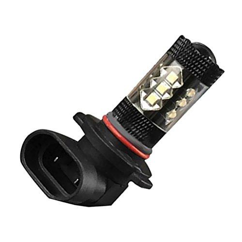 #N/a HB4 9006 16-LED 80W 7000K 1920LM Lámpara de Bombilla Antiniebla Faro de Conducción