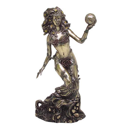 Pacific Giftware Bronzed Earth Mother Goddess Gaia Statue