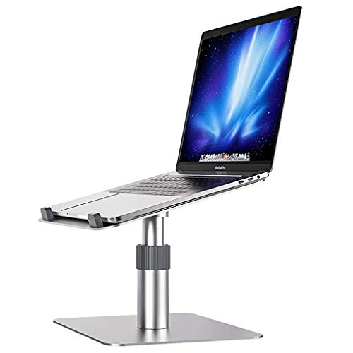 LIULAOHAN Laptop Stand,360°Rotating Adjustable Laptop Holder,with Heat-Vent, Multi-Angle Holder Compatible with MacBook Air/Pro Dell HP Lenovo More 10-15.6' Laptops
