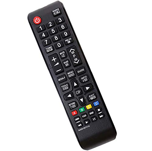 allimity Telecomando di ricambio AA59-00741A Sub AA59-00484A TM1240 per Samsung TV PN43E440A2F PN51E440A2F PN43E450A1F PN51E450A1F PN60E530A3F T28D310NH PN51E535A3F PN60E535A3F T24B350ND