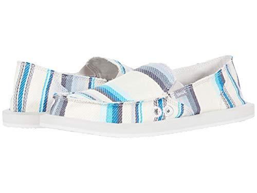 Sanuk Donna Blanket Chaussures Basses pour Femme - Multicolore - Tapis de Selle Bleu, 36.5 EU