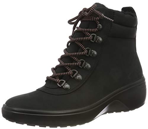 ECCO Damen Soft 7 Wedge Tred BlackBlack Ankle Boot, Schwarz (BLACK/BLACK), 40 EU