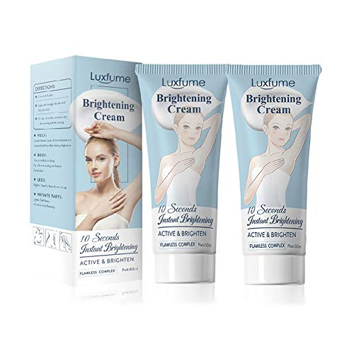 2pcs Body Cream,10 Seconds Effective Fade Cream,Anti-dark Spot Dark Spot Corrector for Knees,Elbows, Armpit,bikini line - Skin Moisturizer and Gels Cream, Can Nourishes Skin,60ML/Bottle