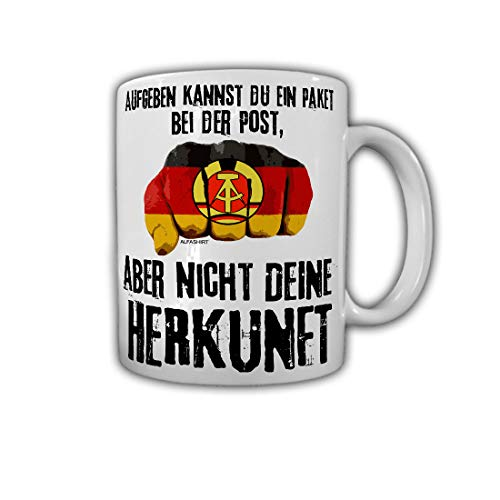 Mok je herkomst DDR opgeven kun je een pakje bij de post #30059