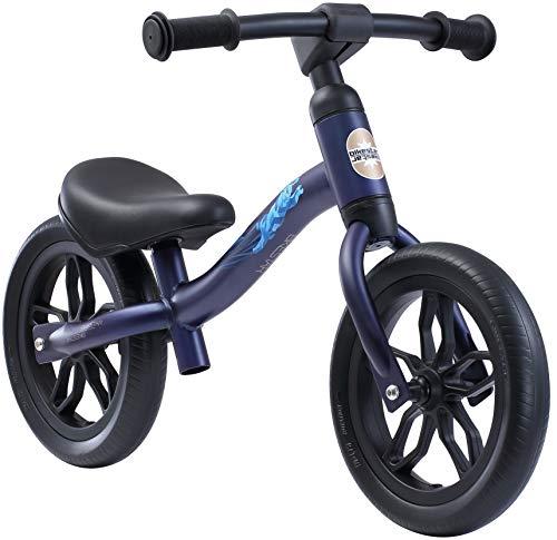 BIKESTAR Federleichtes (3 KG!) Kinderlaufrad Lauflernrad Kinderrad für Jungen und Mädchen ab 2-3 Jahre | Mitwachsendes 10 Zoll Kinder Laufrad Lightrunner | Dunkelblau | Risikofrei Testen