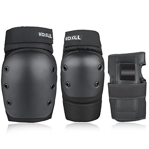 VOKUL 3 in 1 Protective Gear Set for Kids Youths Adults Safety Gear...