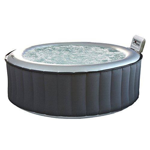 Happy Garden Spa Gonflable Rond Silver Cloud - 6 Places