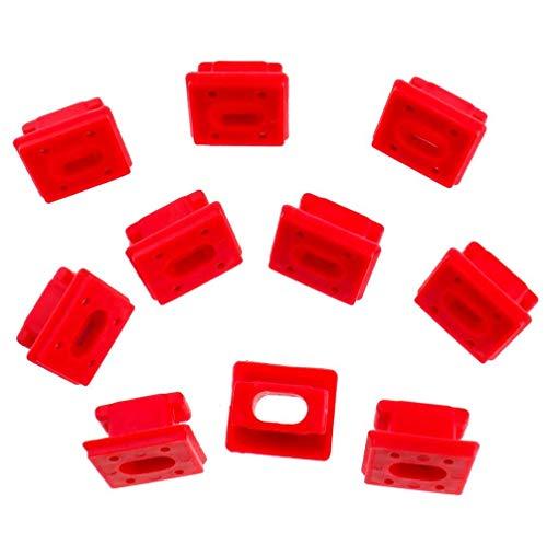 10 piezas salpicadero moldura CLIPS pinza salpicadero salpicadero insertos clips para E46 3 E65 7 X3 E85