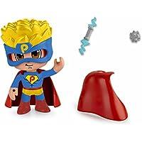 Pinypon Action - Pack de 2 Figuritas Superhéroe y Futbolista (Famosa 700014492)