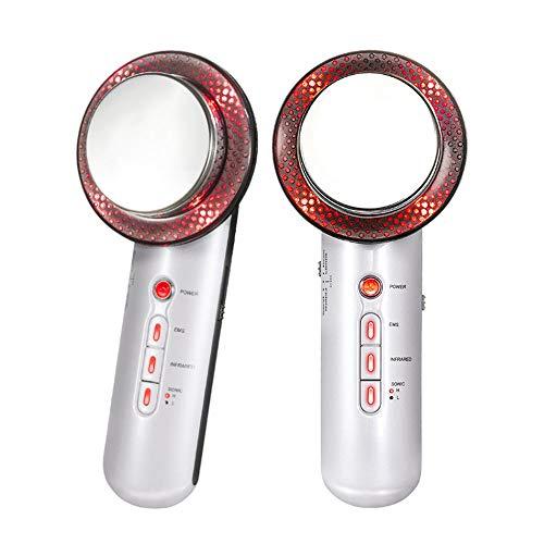 KQBAM Schönheits-Maschine, heiße und kalte Gesichtsmassage bewegliche Hand Schönheits-Maschine Elektro Wiederaufladbare Schallschwingung Hautpflegegerät für Anti