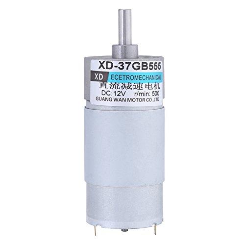 DC12V 15W 500RPM 37GB555 Mini Motorreductor de par elevado, eléctrico, motor de...