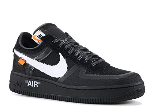 Nike Air Force 1 Low x Off White - Black/White-Cone-Black Trainer Size 4.5 UK
