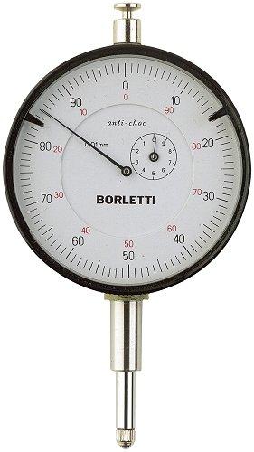 Borletti SC60ANT Comparatore centesimale a quadrante, Corsa 10 mm, Diametro 60 mm,...