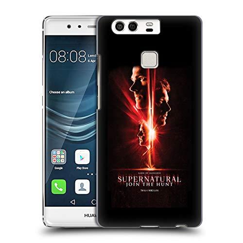 Offizielle Supernatural Sam, Dean & Castiel Schluessel Kunst Harte Rueckseiten Huelle kompatibel mit Huawei P9