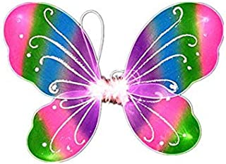Butterfly Fairy Wings Dress Up Wings Birthday Party Favor Accessory Halloween Costume Rainbow color