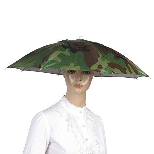 CXLD - Sombrero elástico con diseño de camuflaje