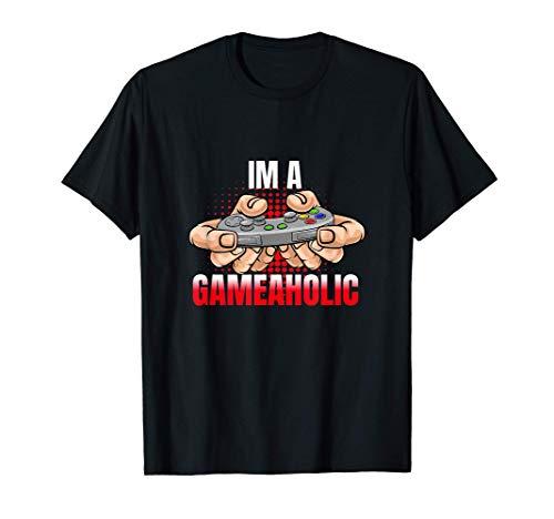 I'm A Gameaholic - Gaming T-Shirt