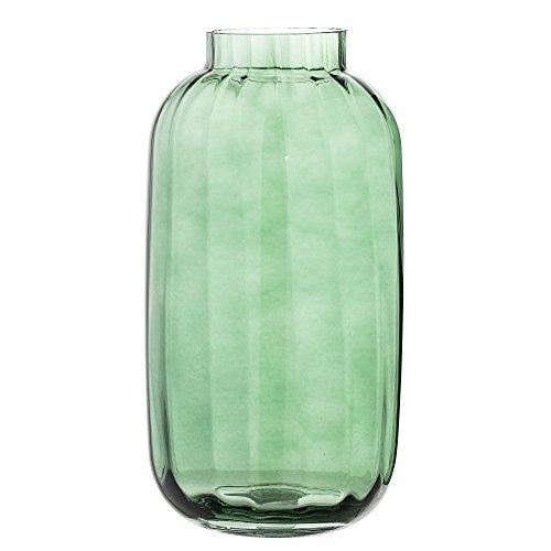 Bloomingville Vase, grün, Glas
