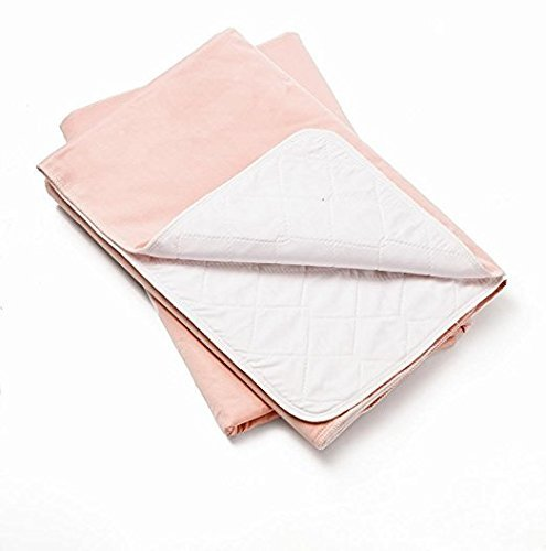 3 Pack of Pink - Platinum Care Pads Washable Underpad, 34 x 36