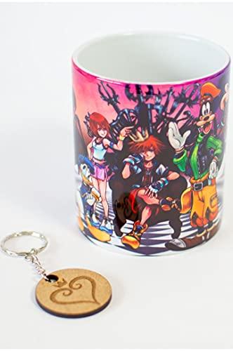 Taza + llavero - Disney - Kingdom Hearts - Taza - 320 ml