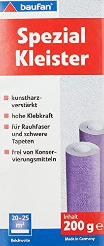 Baufan Spezialkleister, für alle Arten von Tapeten, 200 g