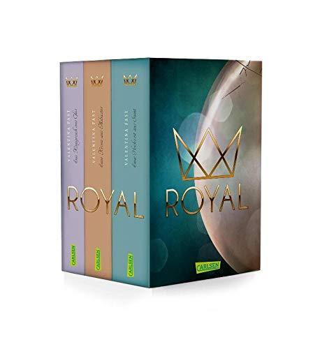 Die Royal-Serie: alle 3 Bände im Schuber + 1 exklusives Postkartenset
