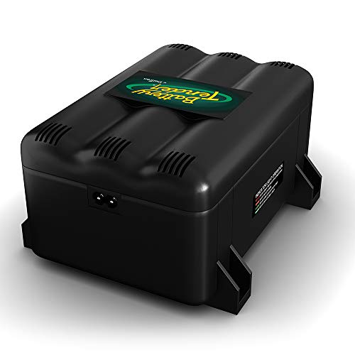 Battery Tender 021-0134-DL-WH Inverter, Black/Green, 10-Bank Battery Charger
