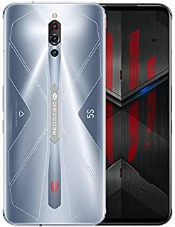 ZTE Nubia Red Magic 5S Dual Sim - 128GB, 8GB RaM, Sonic Silver - International Version