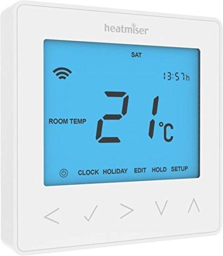 Heatmiser NeoStat-hw Termostato, 230 V, Glacier White
