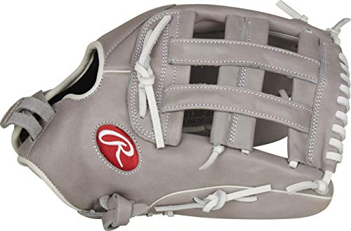 Rawlings R9 Series Fastpitch Softball Glove, Pro H Web, 13 inch, Right Hand Throw