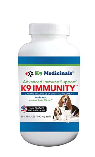 K9Medicinals K9 Immunity Capsules - 90 Count, White (IMS-CAP-90)