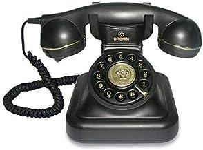Tiptel Vintage 20 Negro - Teléfono (Negro)