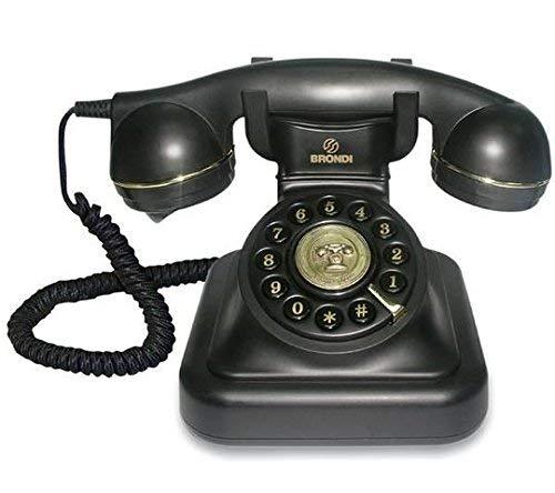 Tiptel Vintage-Telefon 20, Schwarz