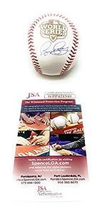 Bruce Bochy San Francisco Giants Signed Autograph Official 2012 World Series MLB Baseball JSA Certified