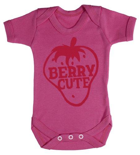 Baby Buddha - Berry Cute Body bébé 6-12 Mois Rose