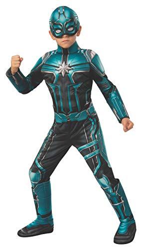 Rubie's Captain Marvel Child's Deluxe Yon Rogg Costume, Medium