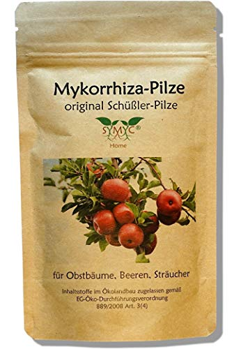 Mykorrhiza-Pilz Konzentrat für Obstbäume und Sträucher - original Schüßler-Pilze, bekannt aus Funk und Fernsehen, zur Verbesserung von Pflanzenwachstum und -Gesundheit