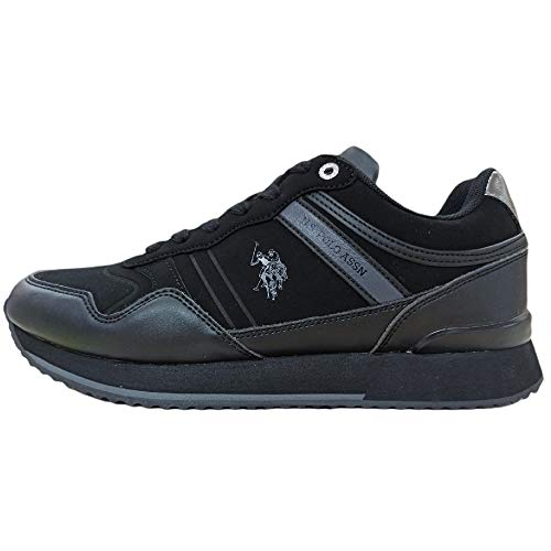 Zapatillas deportivas para hombre Us Polo Garmy Club, Negro (Negro ), 45 EU